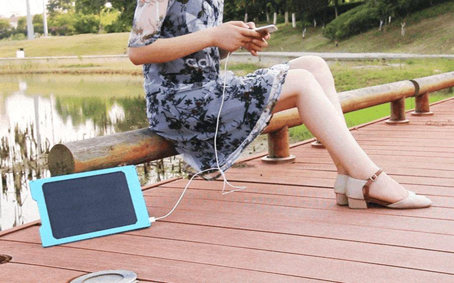 Join the Solar Revolution with TrioPad   Writing Pad, Power Bank & Solar Charger