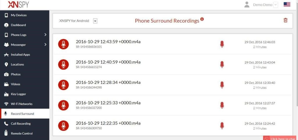 How to Record a Phone's Surrounding with Xnspy's Ambient Recording?