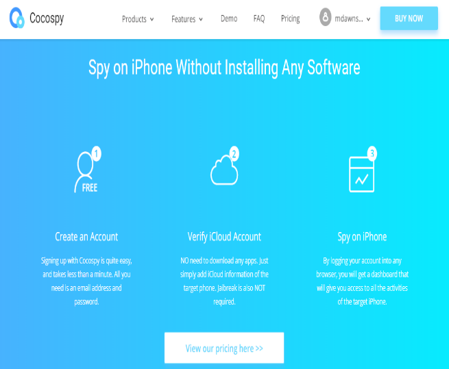 Cocospy iPhone Spy App Review
