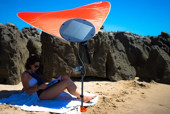 Charge Your Gadgets With Innovative Solar Powered The