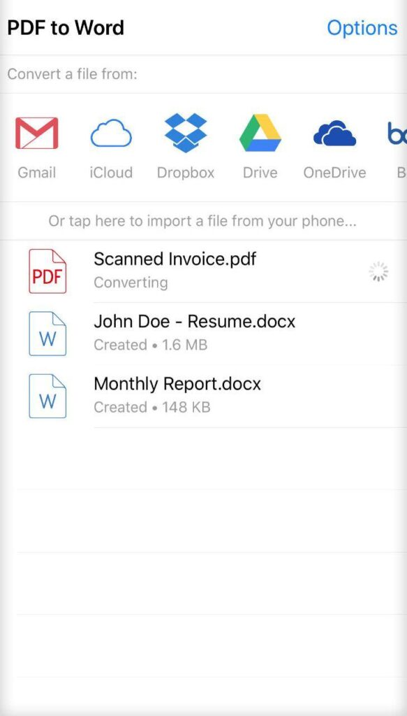 PDF to Word Converter Revisited: Edit Your PDFs On The Go