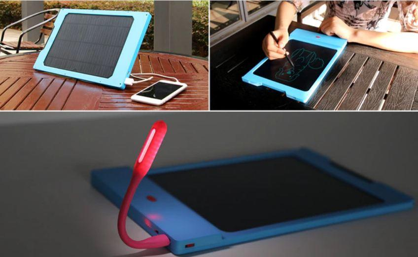Join the Solar Revolution with TrioPad | Writing Pad, Power Bank & Solar Charger