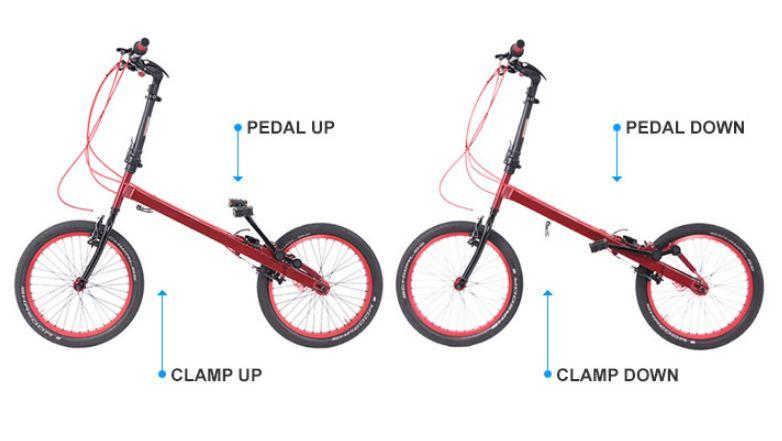 World's First Bionic Folding StepTwin Bike - Call it Bicycle Or Cycle Stepper