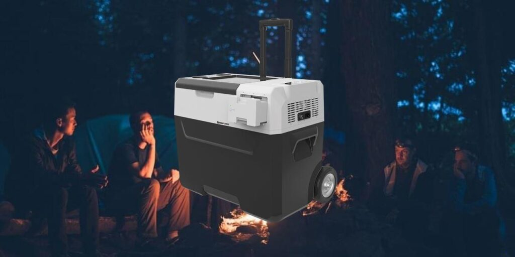 LiONCooler   Solar-Powered First Smart Portable Cooler, Freezer